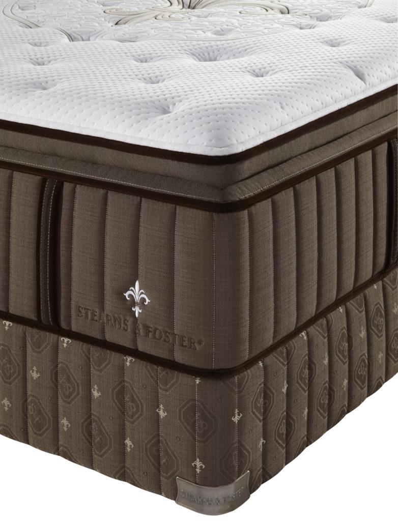 stearns and foster lux estate pillowtop mattress mattress ex
